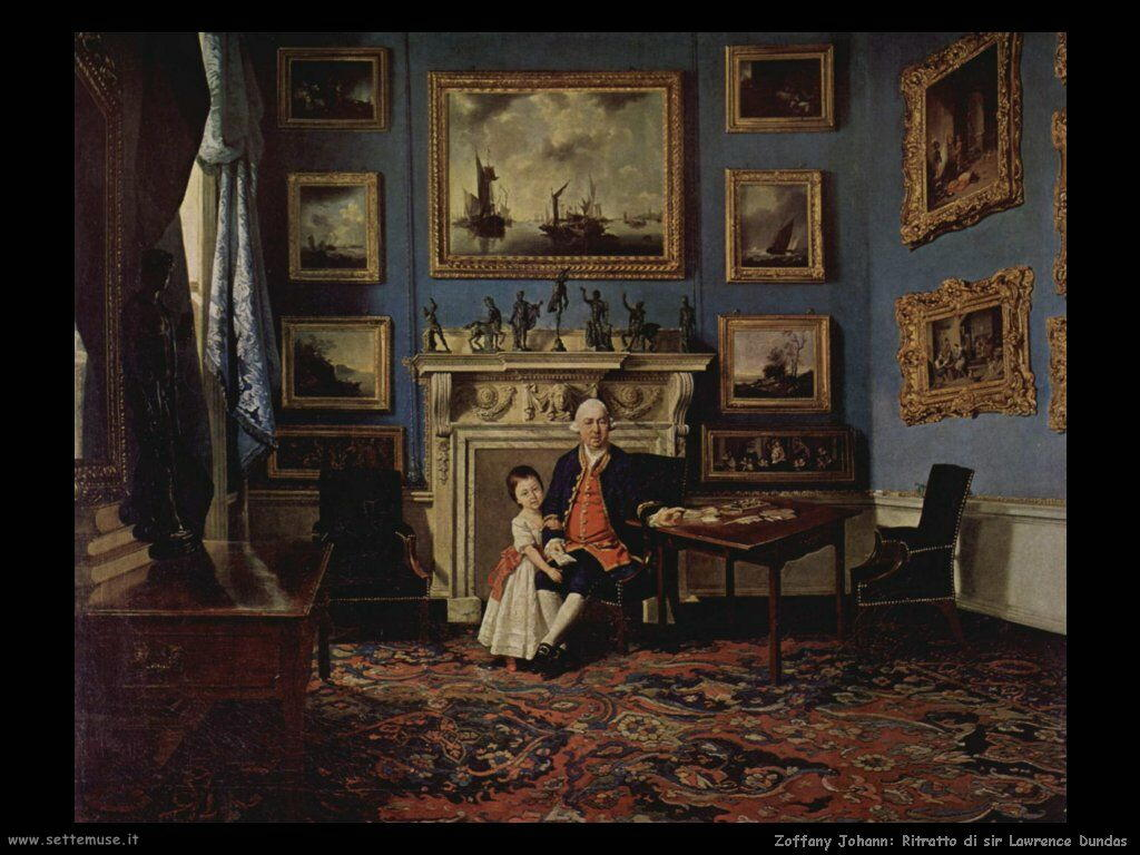 Zoffany Johann Ritratto di sir Lawrence Dundas