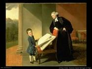 Zoffany Johann Reverendo Randall Burroughs e figlio