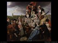 Zoffany Johann Famiglia Sharp