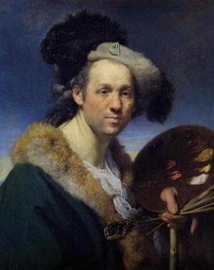 Autoritratto di Zoffany Johann