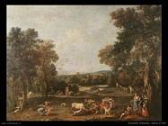 Zuccarelli Francesco Caccia al toro