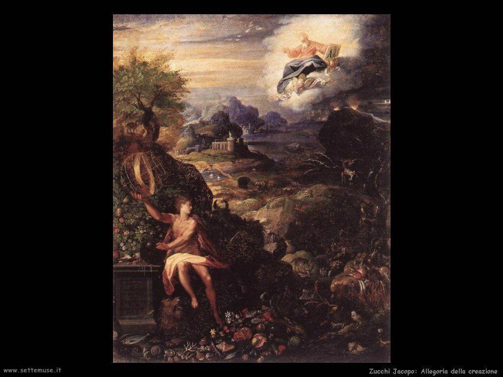 Allegoria della Creazione Zucchi Jacopo