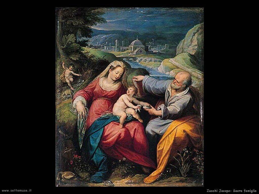 Sacra Famiglia Zucchi Jacopo