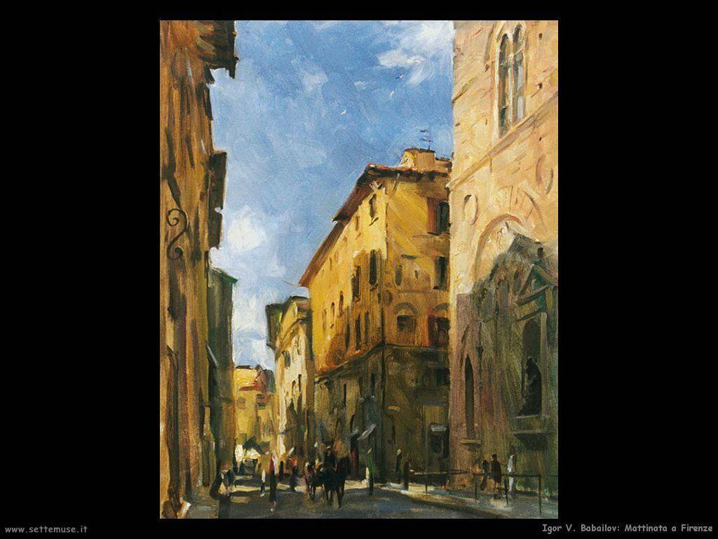 igor_v_babailov Mattina a Firenze