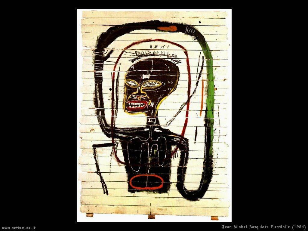 jean_michel_basquiat_flessibile_1984