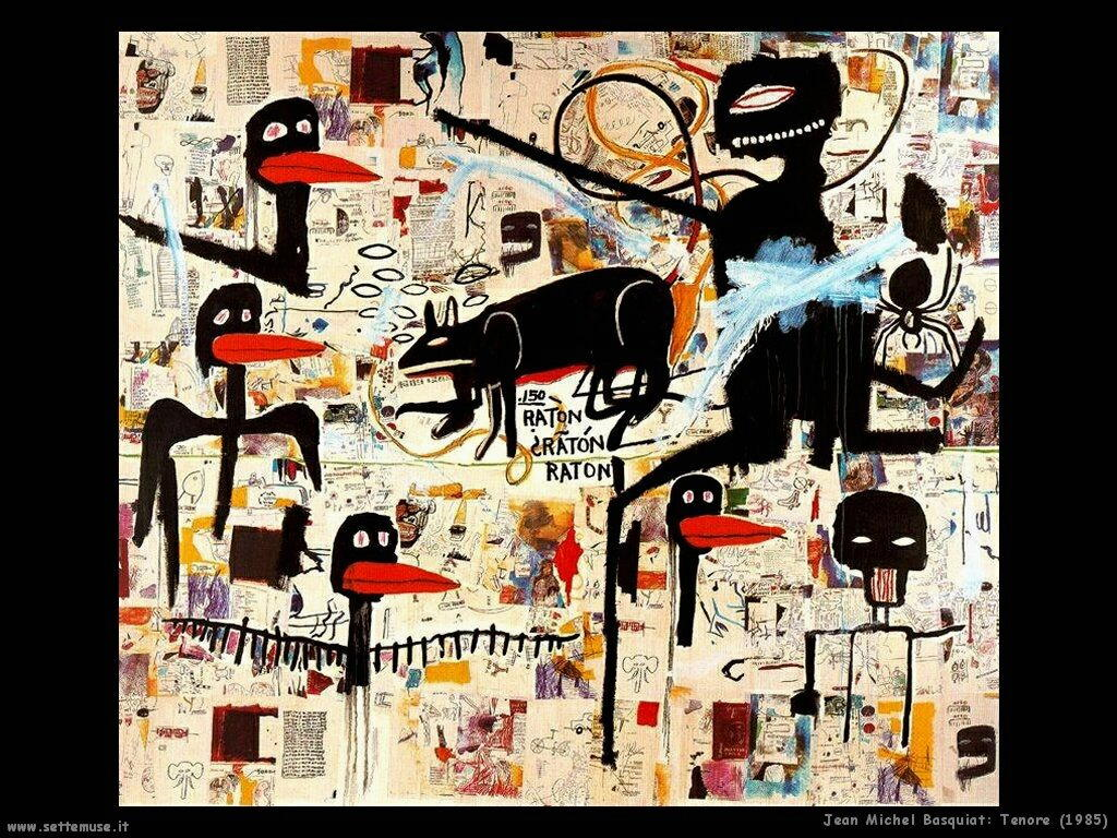 Jan Michel Basquiat Pittore Opere Settemuse It