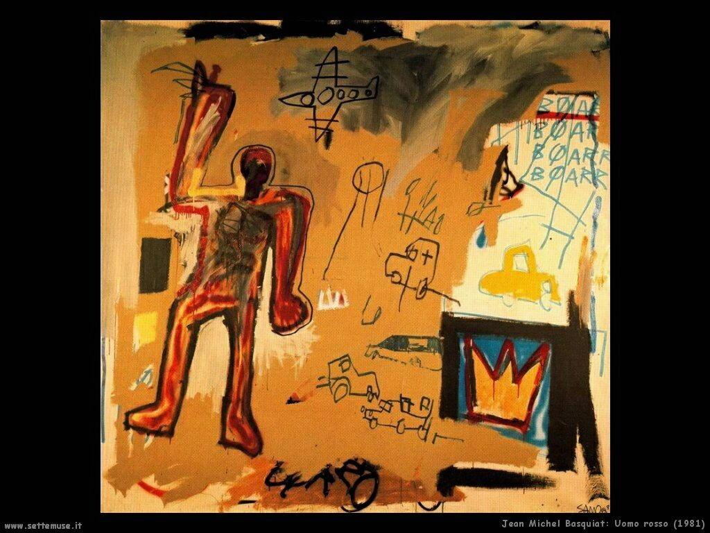 jean_michel_basquiat_uomo_rosso_1981