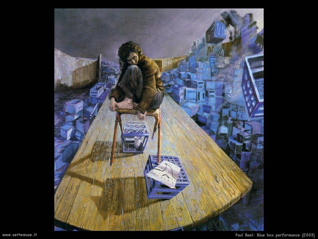 Prestazioni della scatola blu(2003) Paul Beel