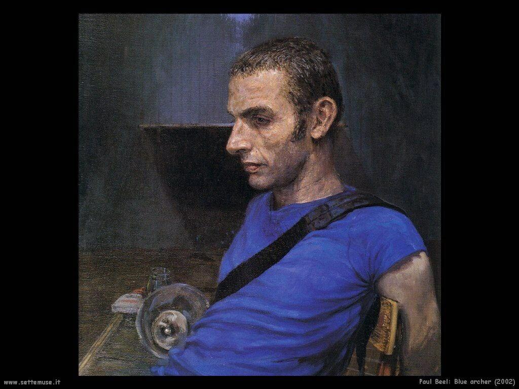 Bleu archer (2002) Paul Beel