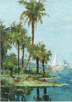 Spiaggiadi Frank Weston Benson artwork