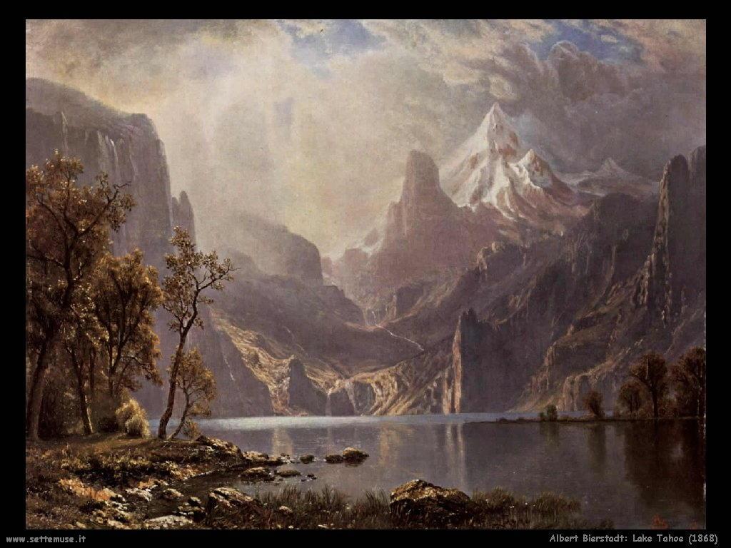 lago_tahoe_1868 Albert Bierstadt