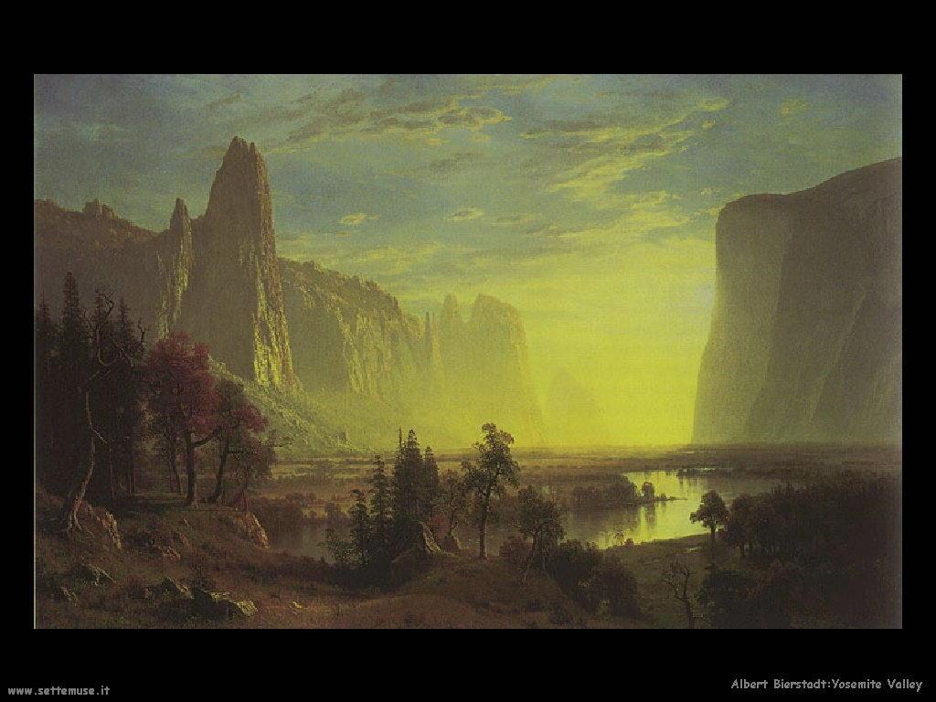 yosemite Albert Bierstadt