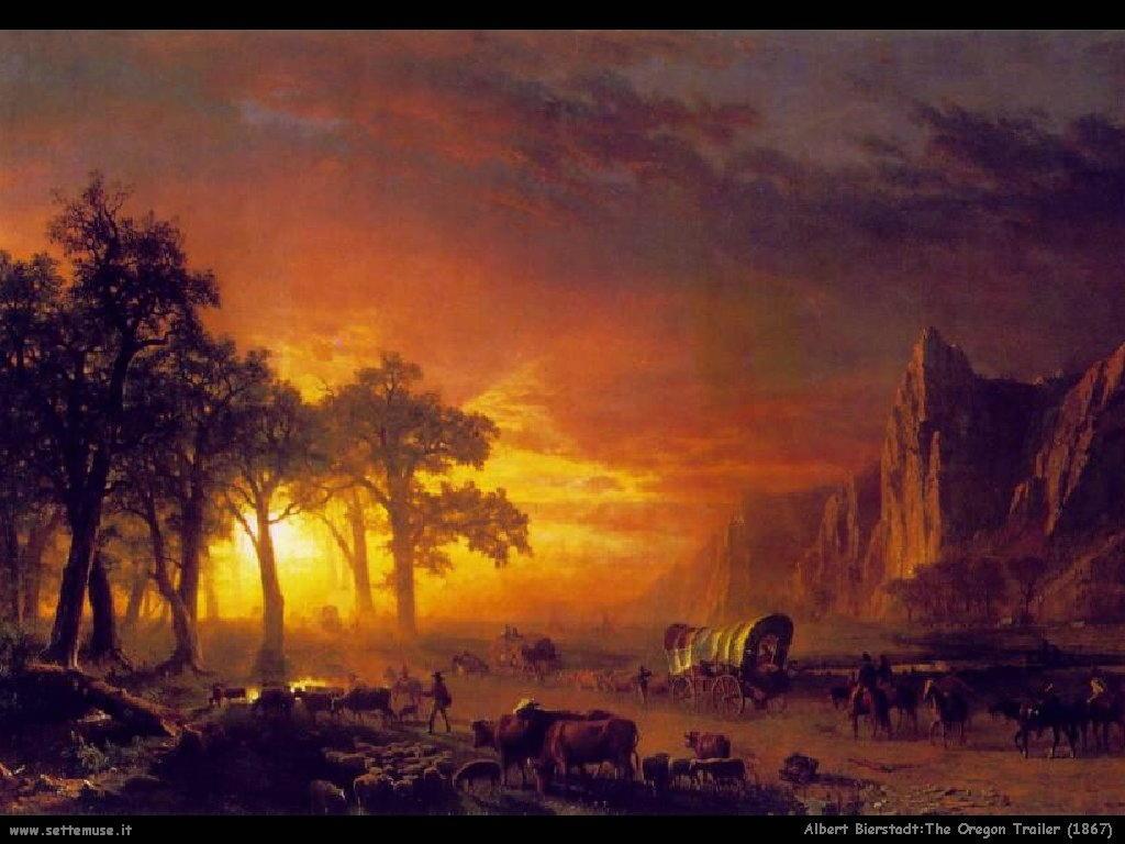 Il sentiero originale_1867 Albert Bierstadt