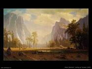 Alzando lo sguardo su Yosemite_1865  Albert Bierstadt