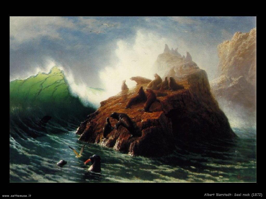 Roccia nel Mare_1872 Albert Bierstadt