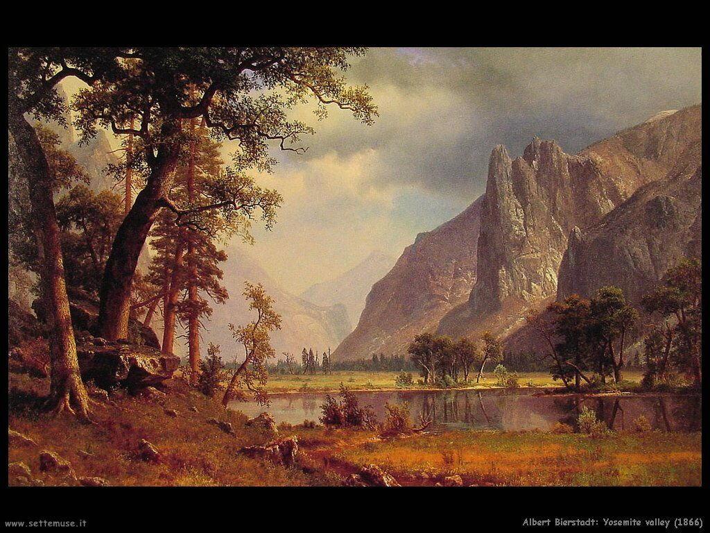 Valle_yosemit_1866 Albert Bierstadt
