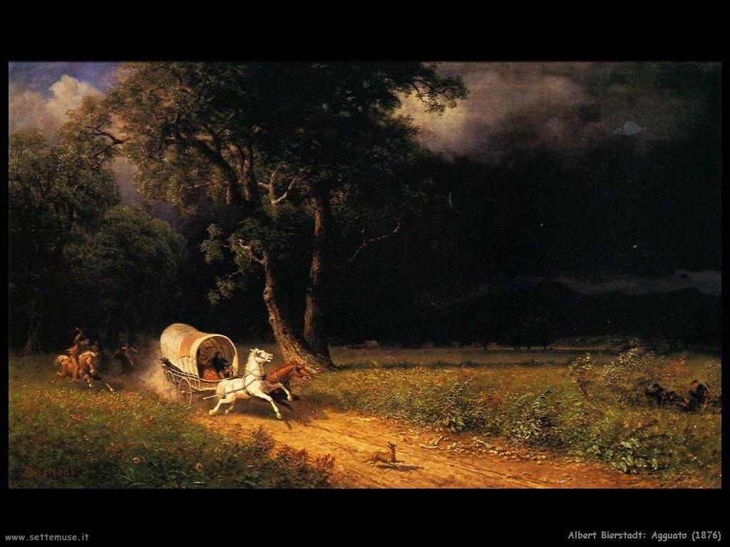 Albert Bierstadt_agguato_1876