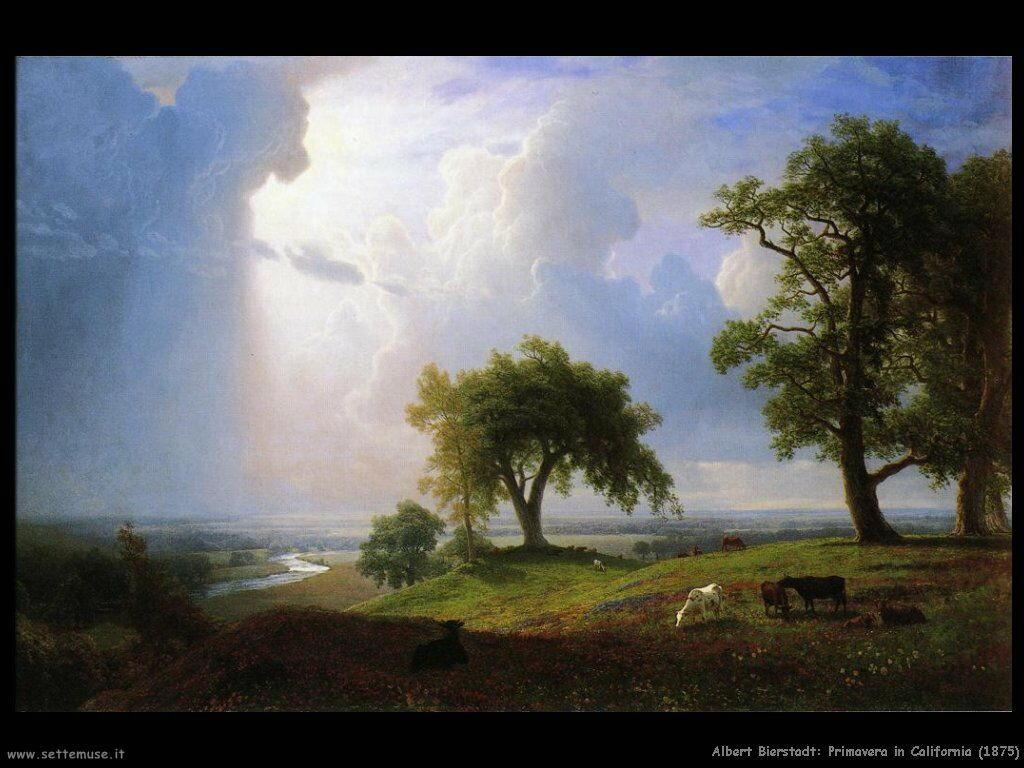 Albert Bierstadt_primavera_in_california_1875