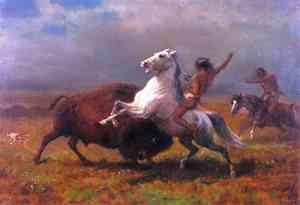 Dipinto di Albert Bierstadt