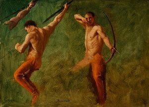Pittura di Albert Bierstadt