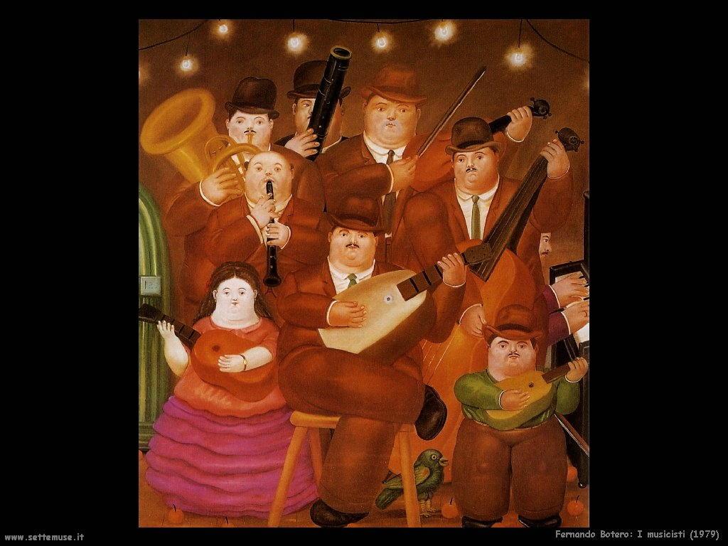 Fernando Botero_i_musicisti_1979