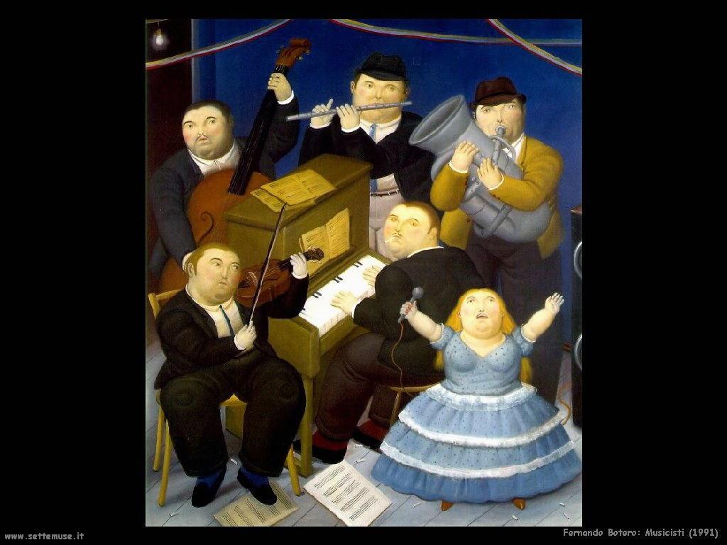 Fernando Botero_musicisti_1991