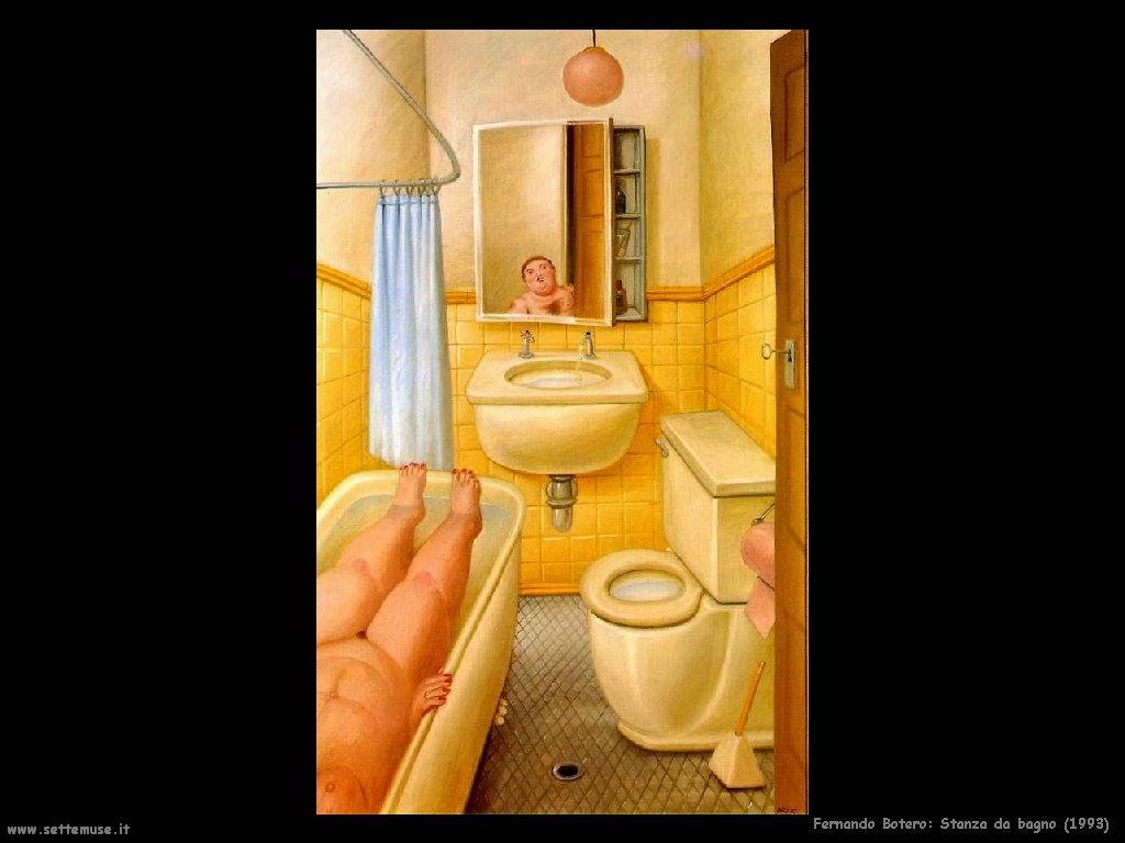 Fernando Botero stanza_da_bagno_1993