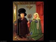 Fernando Botero_matrimonio_arnolfini_dopo_van_eyck