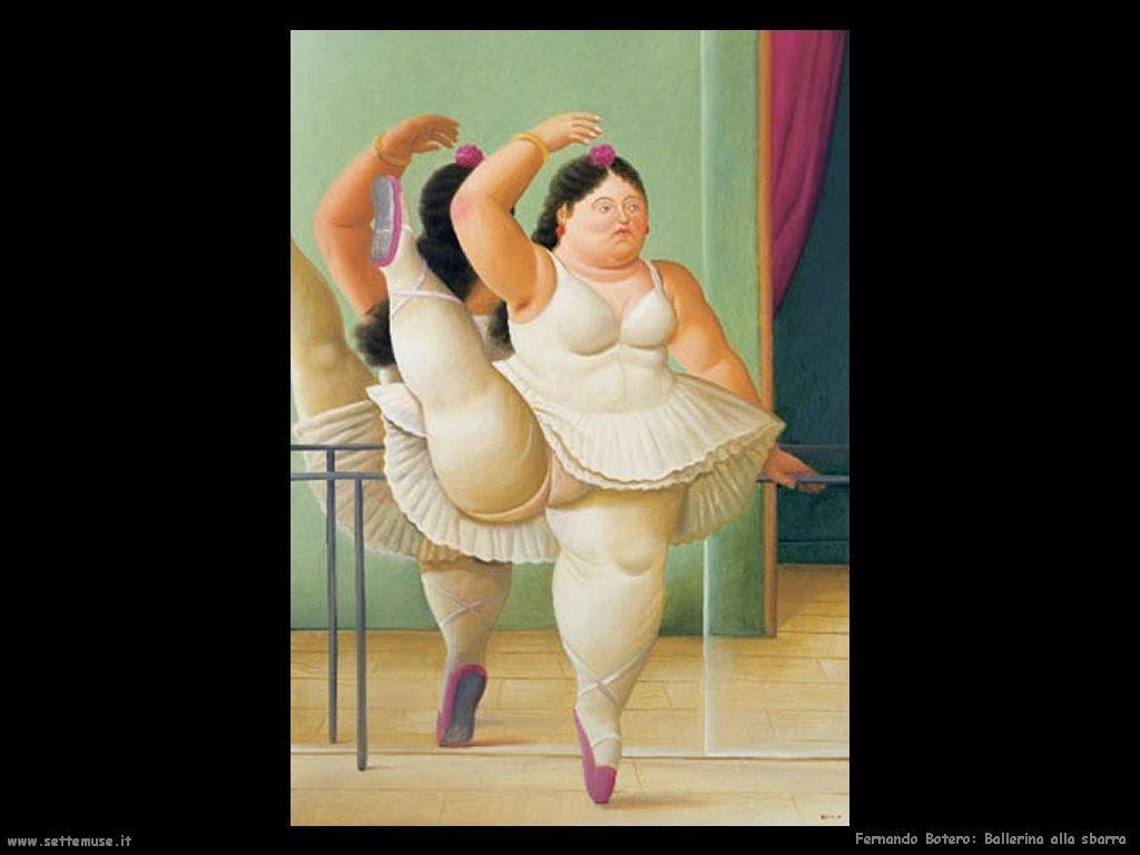 Fernando Botero_ballerina_alla_sbarra