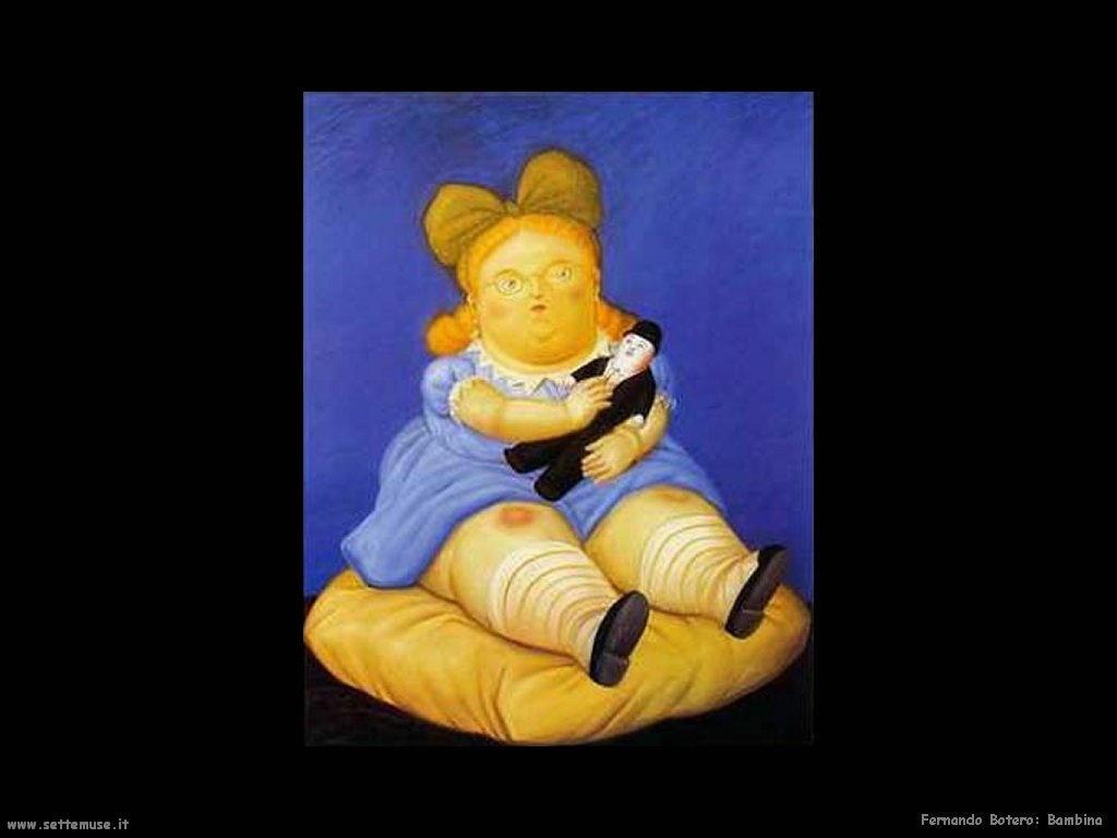 Fernando Botero_bambina