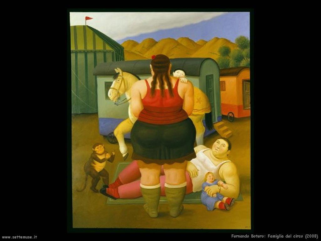 Fernando Botero famiglia_del_circo_2008