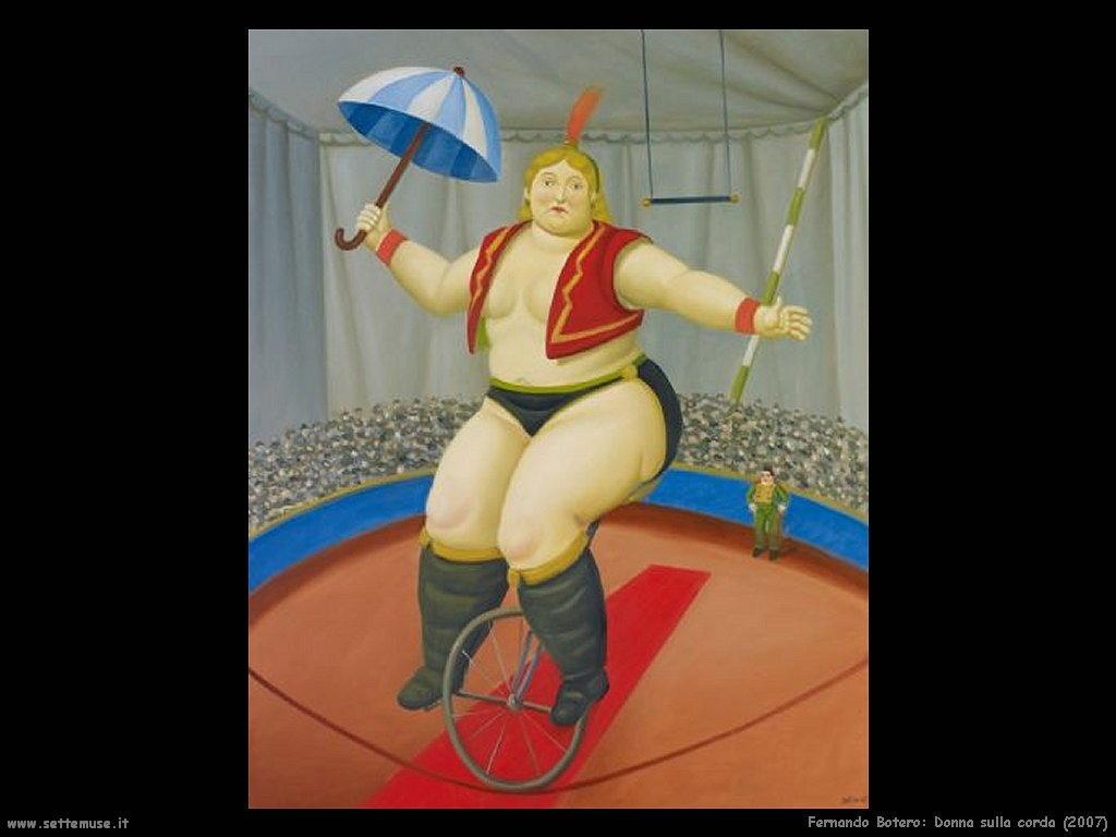Fernando Botero_sulla_corda_2007