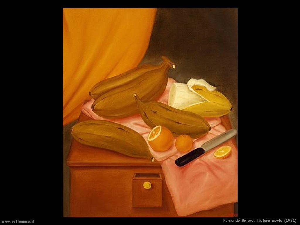 Fernando Botero_natura_morta_1981