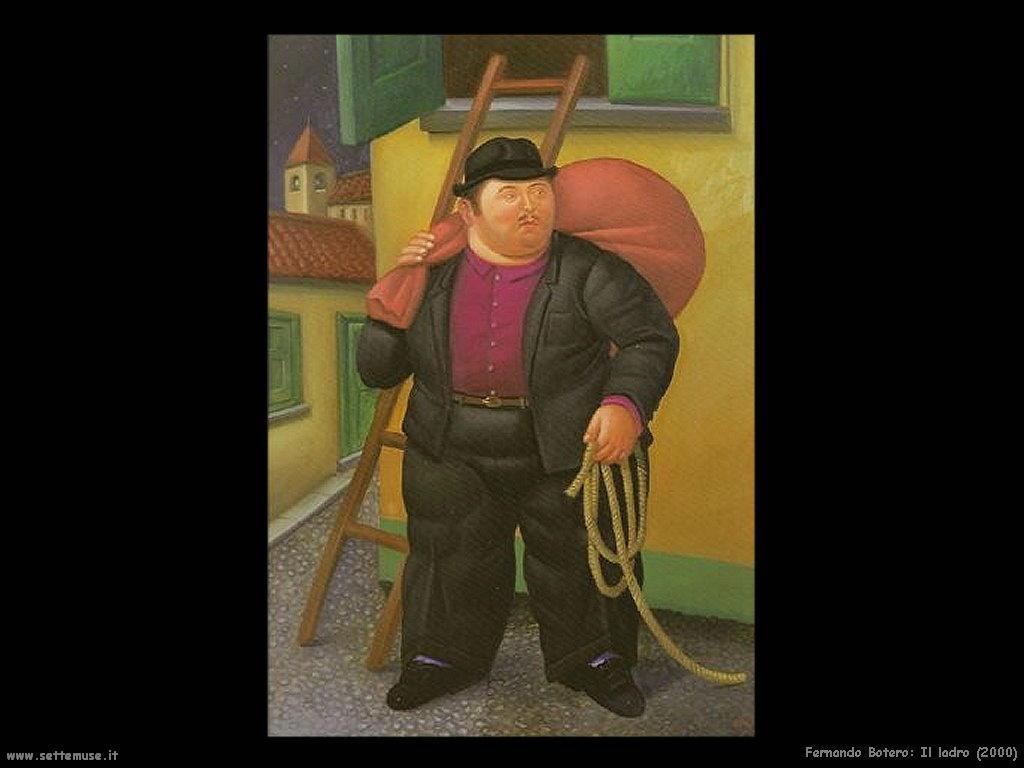 Fernando Botero_il_ladro_2000