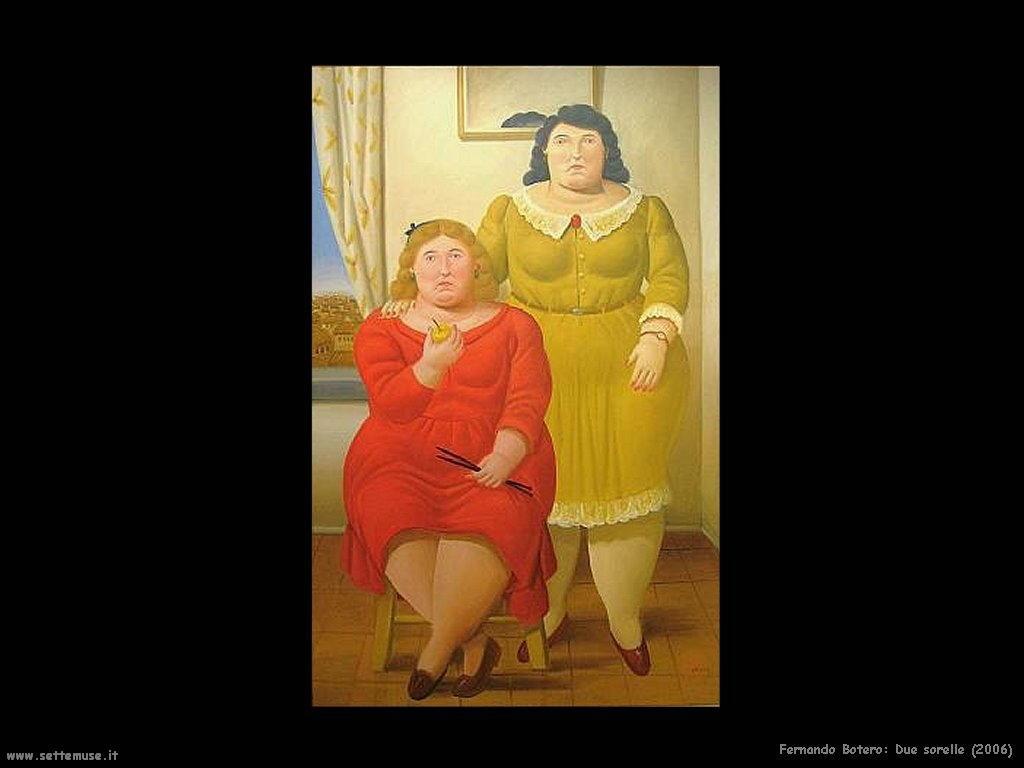 Fernando Botero due_sorelle_2006
