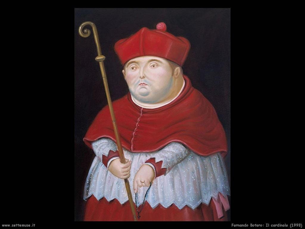 Fernando Botero_il_cardinale_1998