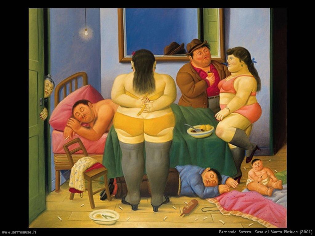 Fernando Botero _casa_di_marta_pintuco_2001
