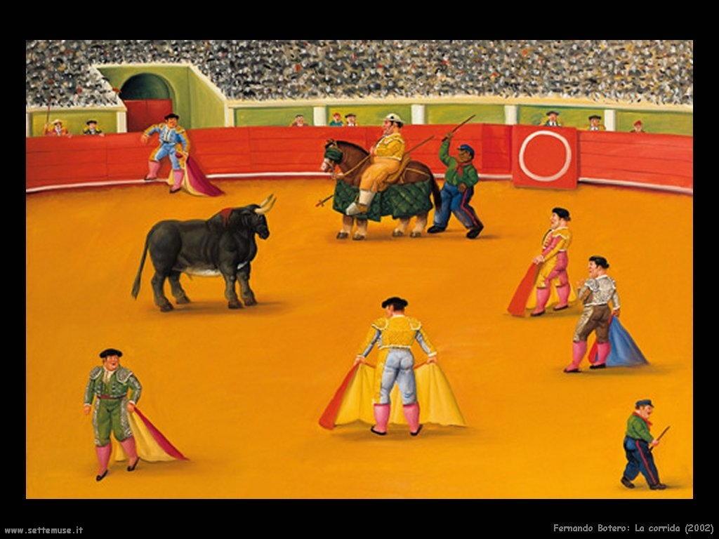 Fernando Botero_la_corrida_2002