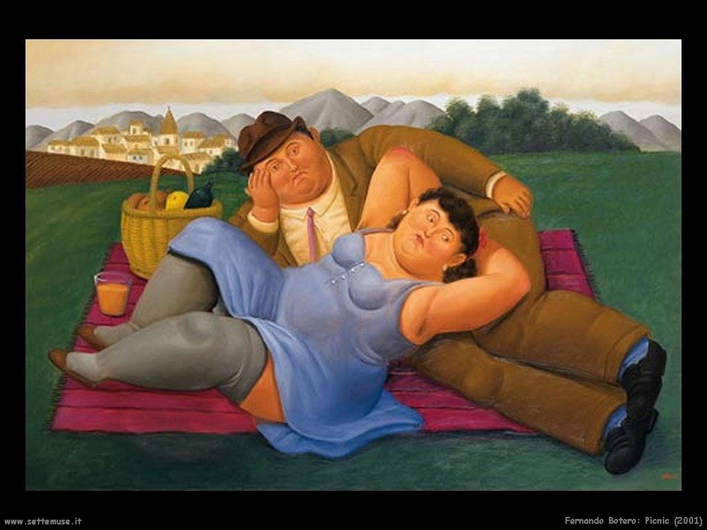 Fernando Botero _picnic_2001