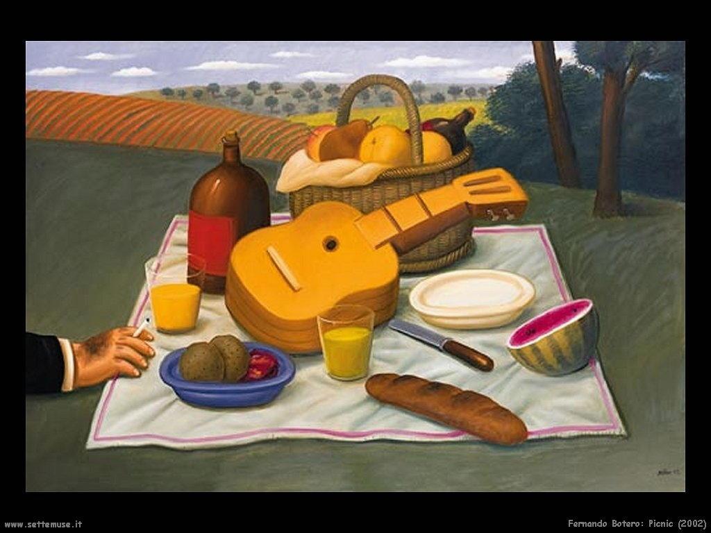 Fernando Botero _picnic_2002