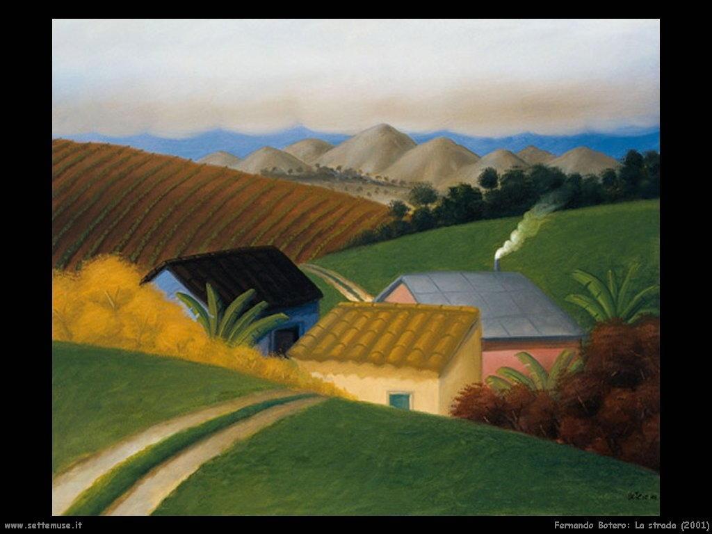 Fernando Botero_la_strada_2001