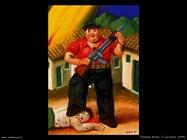 Fernando Botero_il_cacciatore_1999
