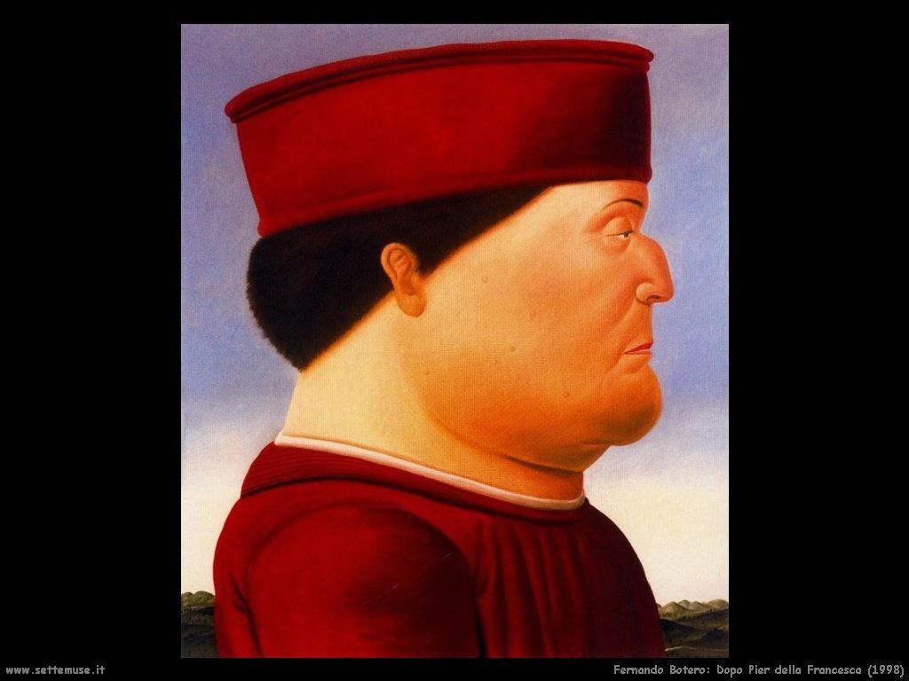 Fernando Botero dopo_piero_della_francesca_1998