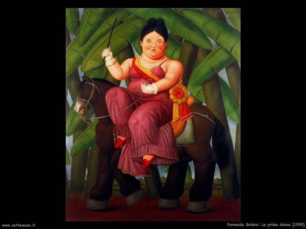Fernando Botero la_prima_dama_1989 artwork