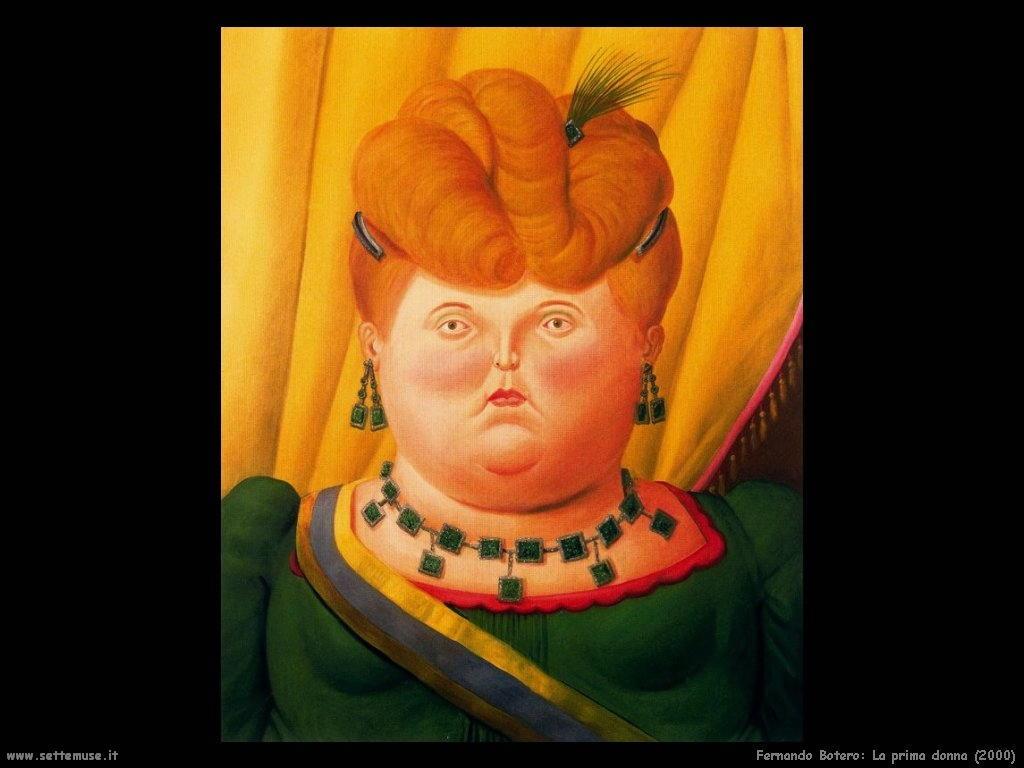 Fernando Botero_la_prima_dama_2000
