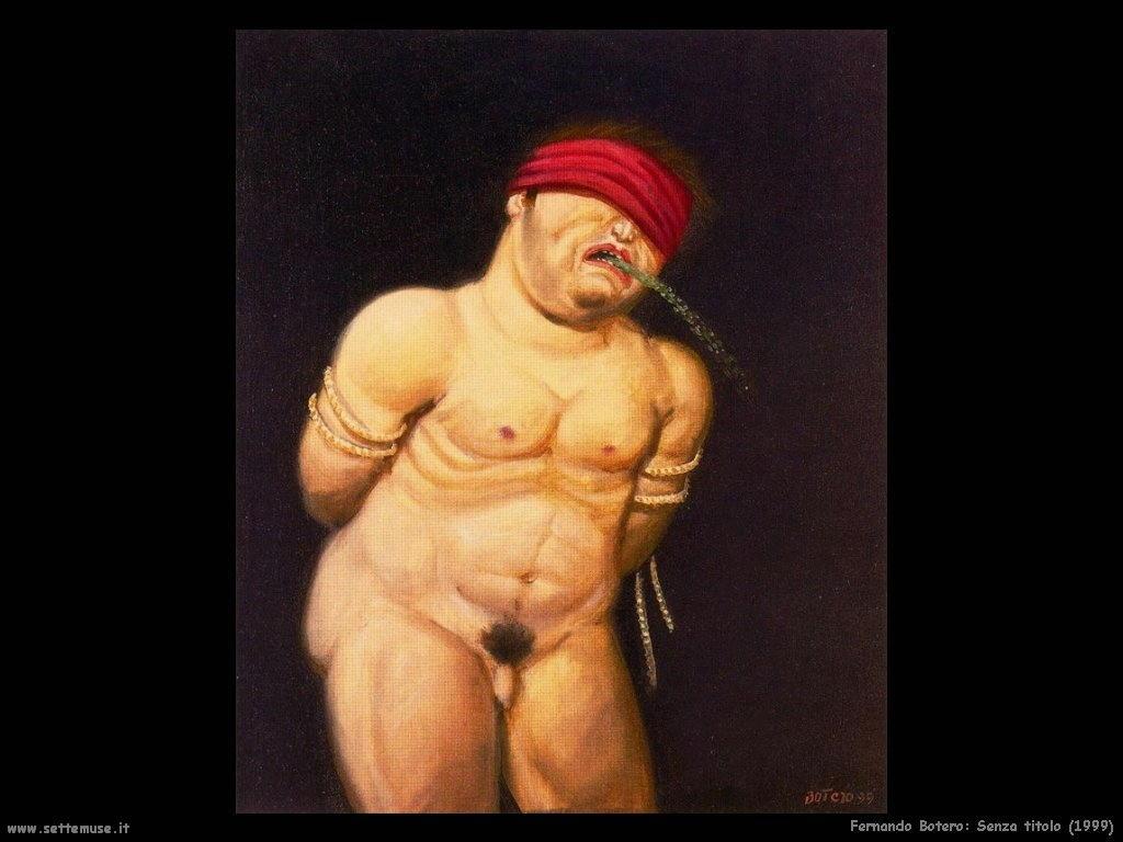 Fernando Botero_senza_titolo_1999