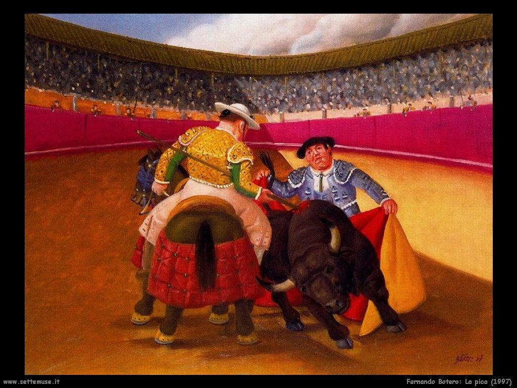 Fernando Botero_la_pica_1997