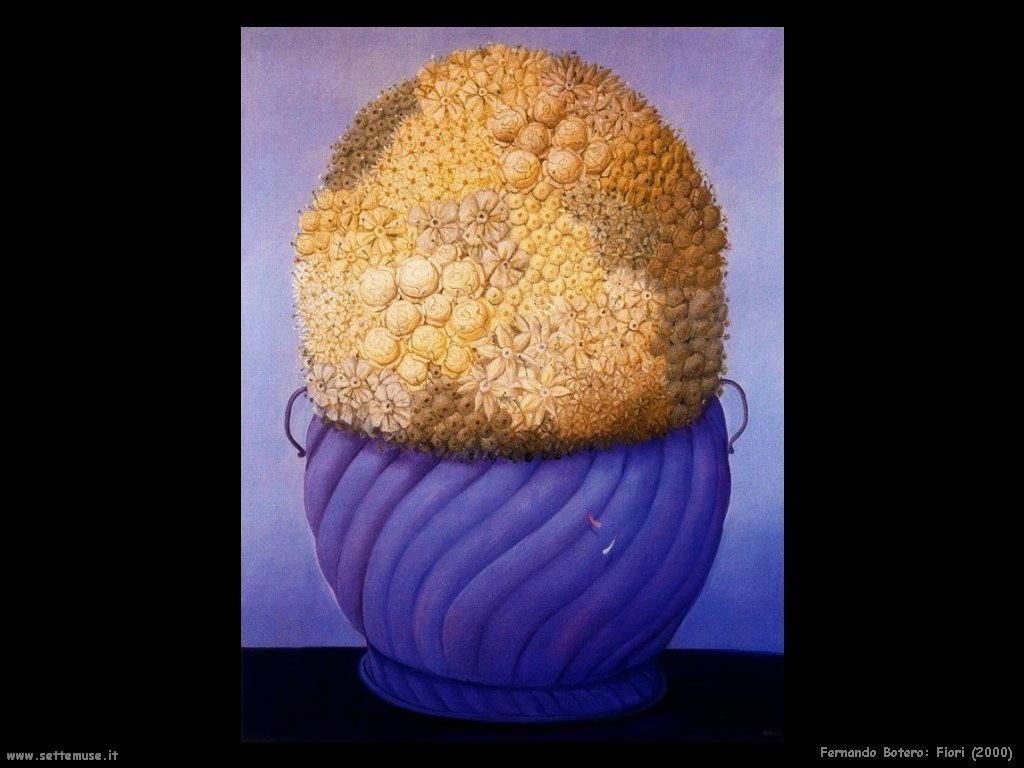 Fernando Botero_fiori_2000