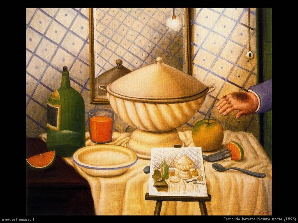 Fernando Botero_natura_morta_1995