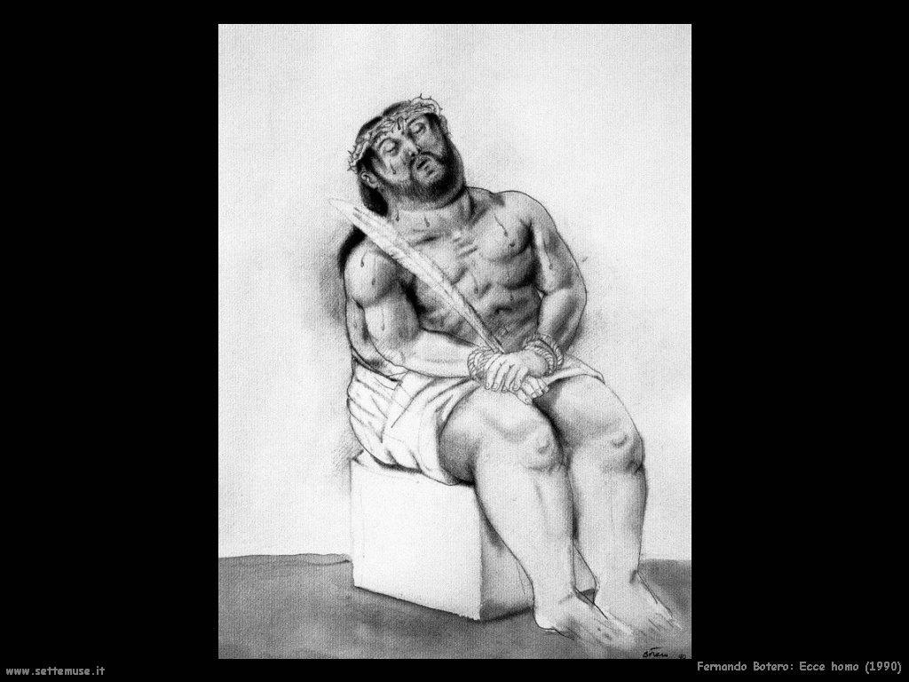 Fernando Botero_ecce_homo_1990